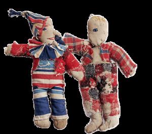 Clowntje en Slome Henkie